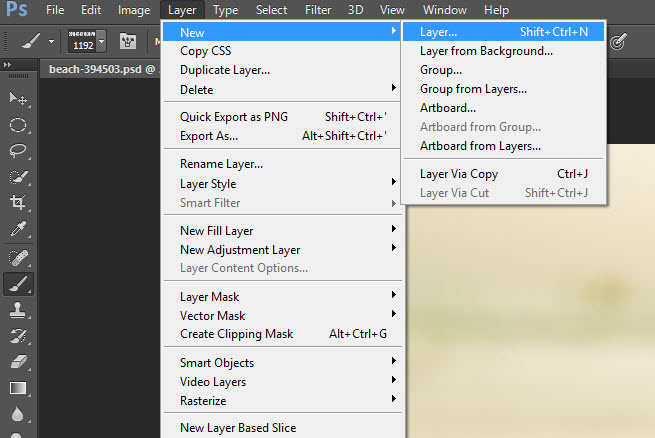 How to Date Stamp and Watermark in Photoshop