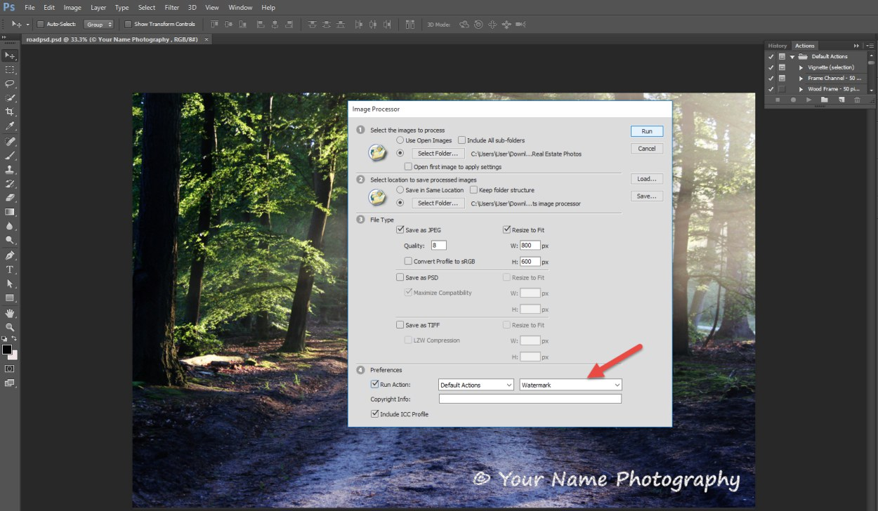How to Edit a Batch of Images in Photoshop