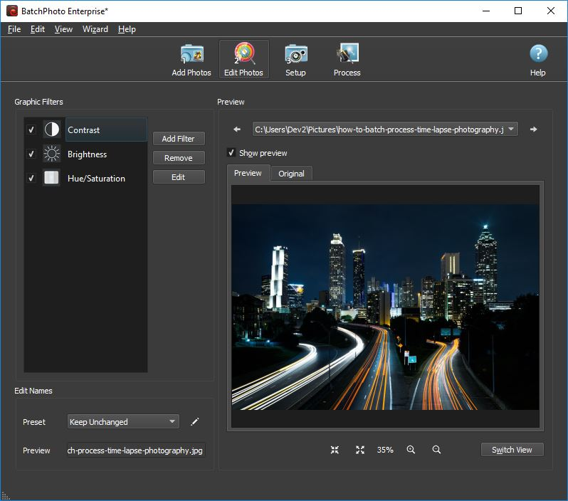 How to Batch Process Time-Lapse Photography