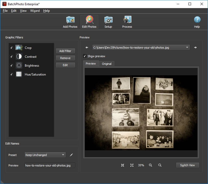How to Restore Your Old Photos