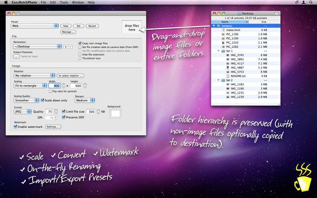 Top 7 Aplicaciones para Editar Fotos por Lotes en Mac