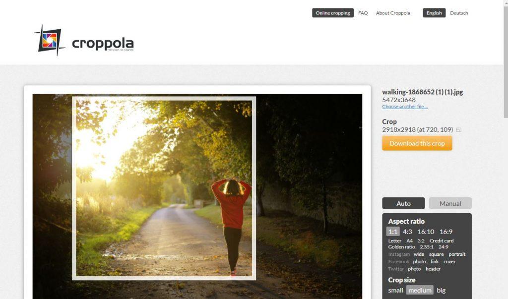 How to Crop Photos Online