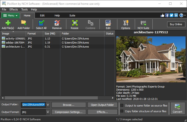 Canon Raw Converter Software